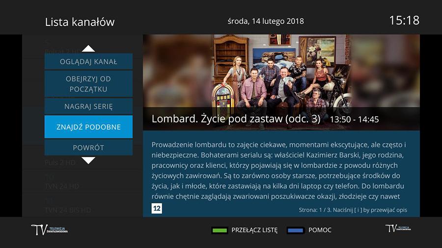 Wyszukiwarka pełnotekstowa - Telewizja Światłowodowa